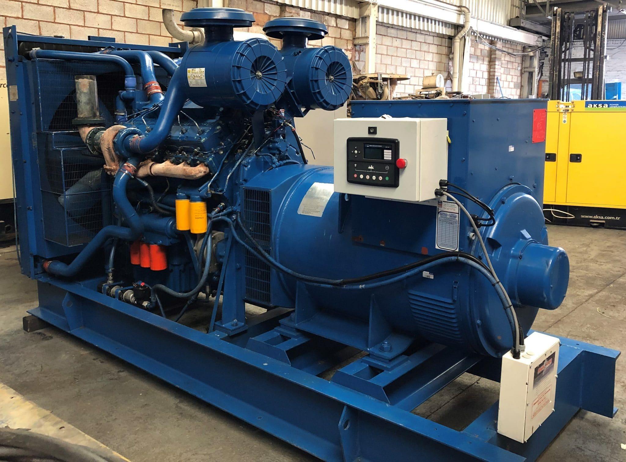 760 KVA Perkins Stamford Open Type Diesel Generator