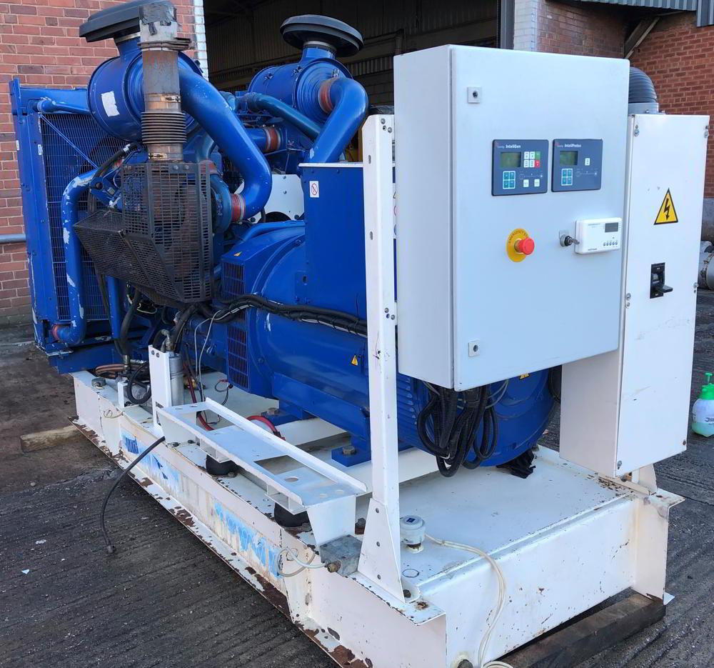 500 KVA F G Wilson Perkins Stamford Open Type Generator