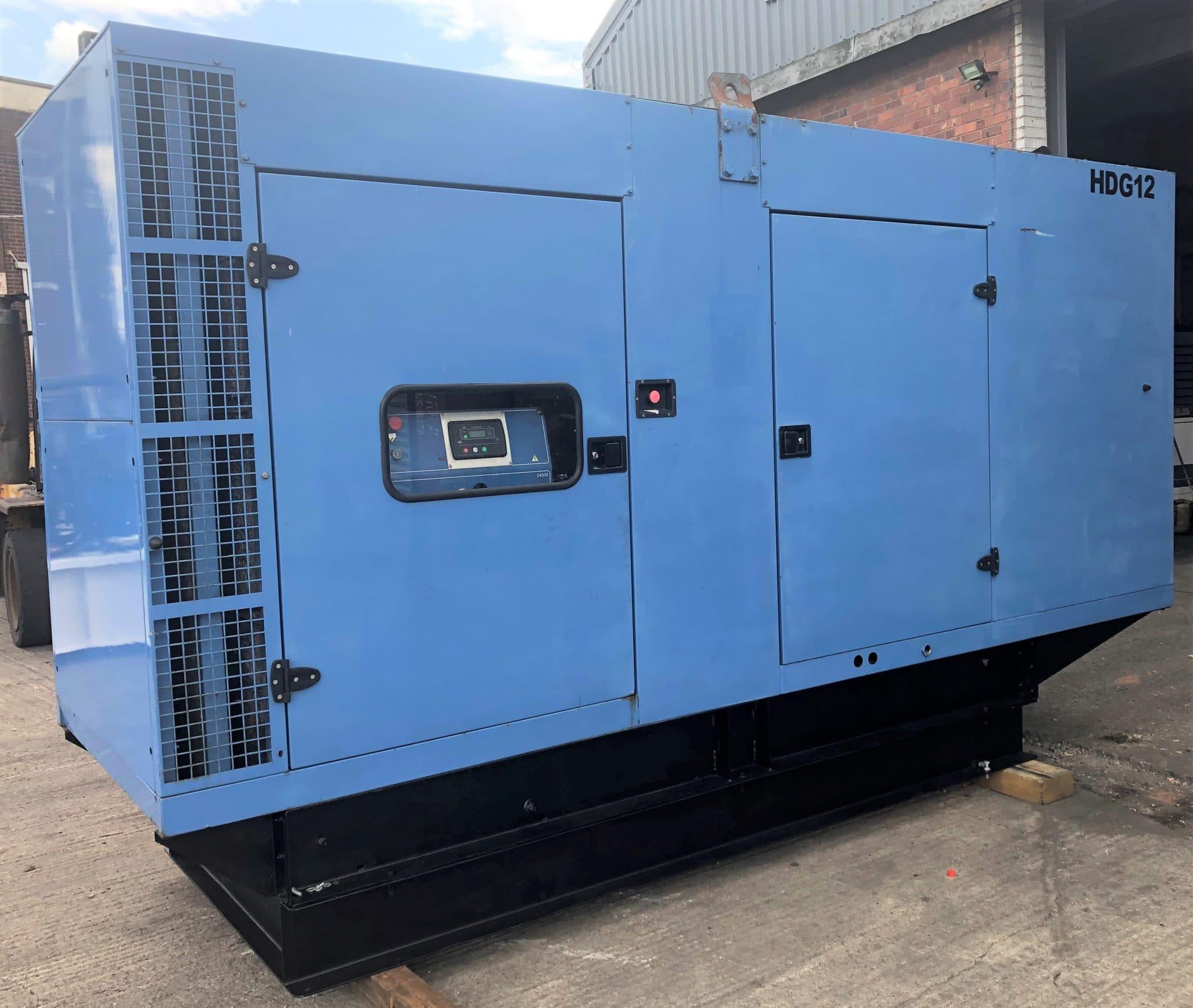 365 Kva SDMO John Deere/MeccAlte Acoustic Generator
