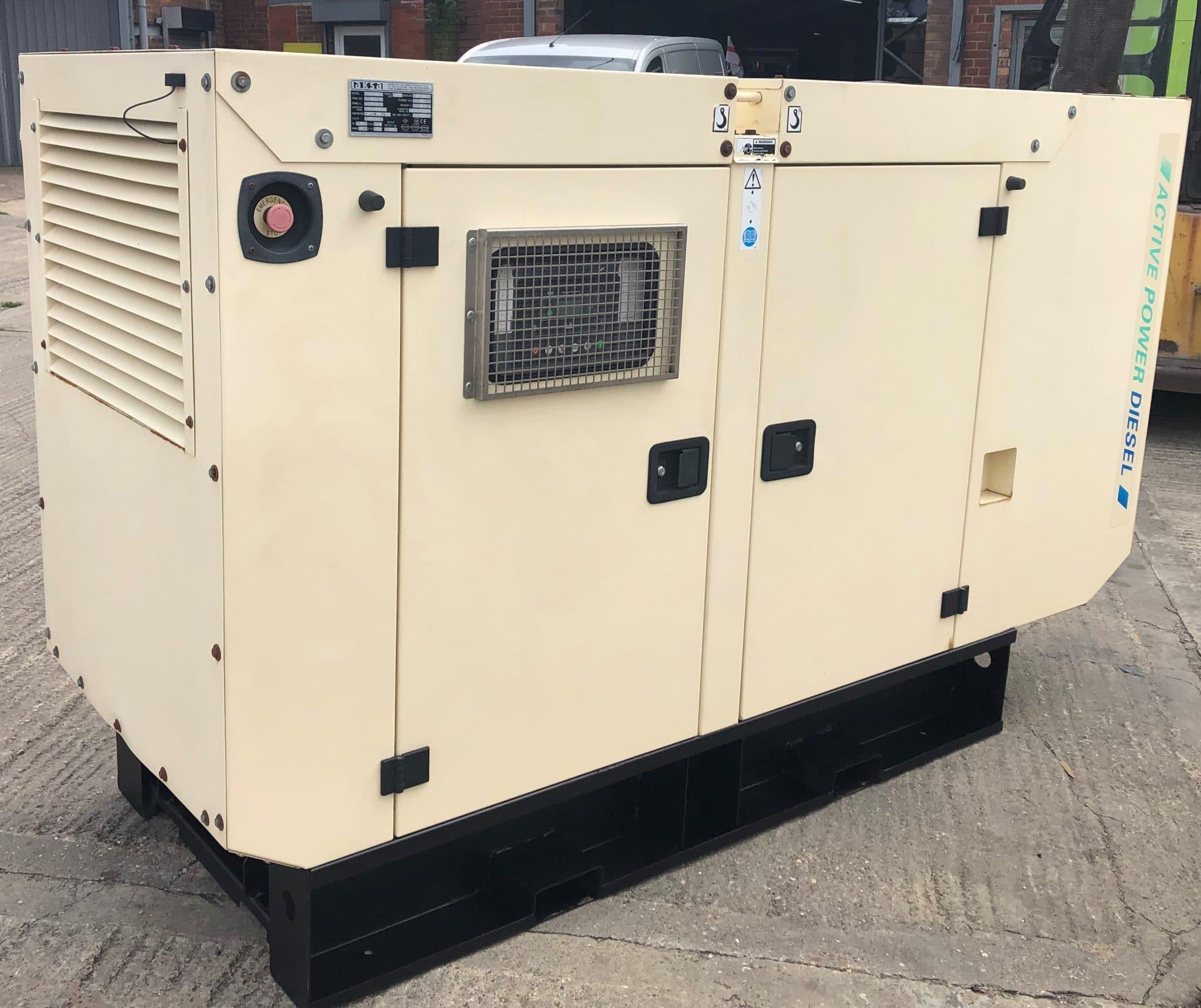 66 KVA Cummins Generators Used Generator