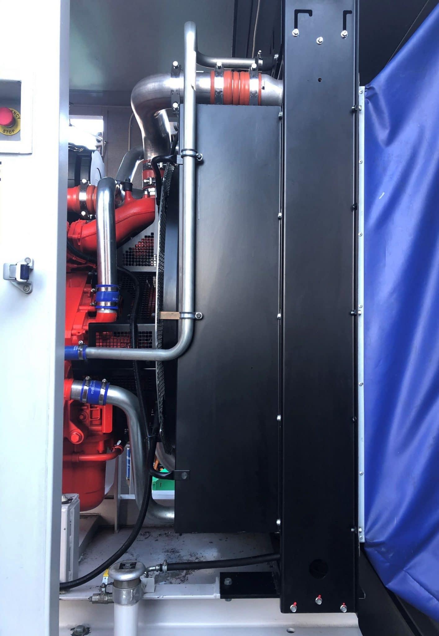 500 KVA Scania Marelli Acoustic Generator 10