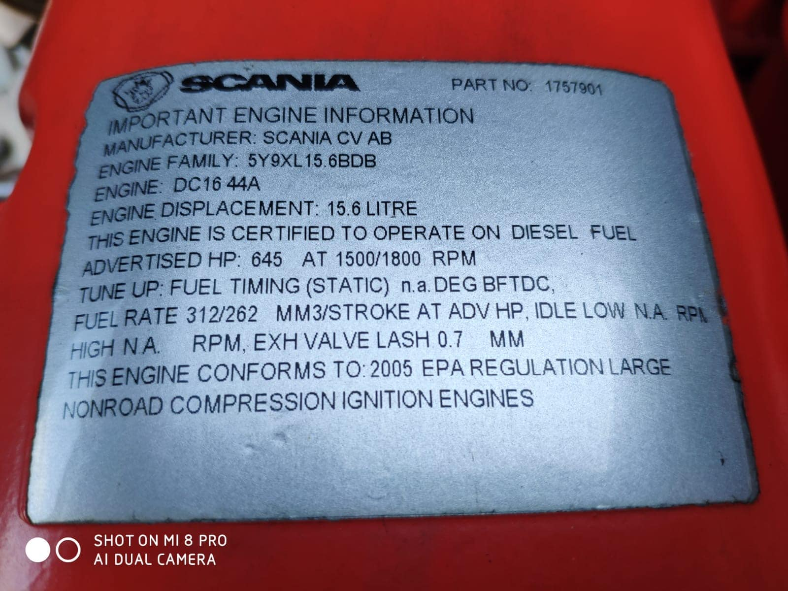 500 KVA Scania Marelli Acoustic Generator 13