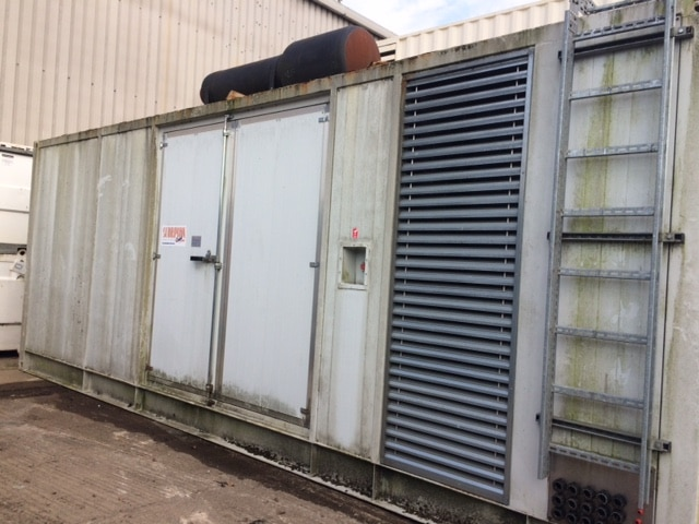 1125 kva Perkins/Mecc Alte fitted in an acoustic 23ft container