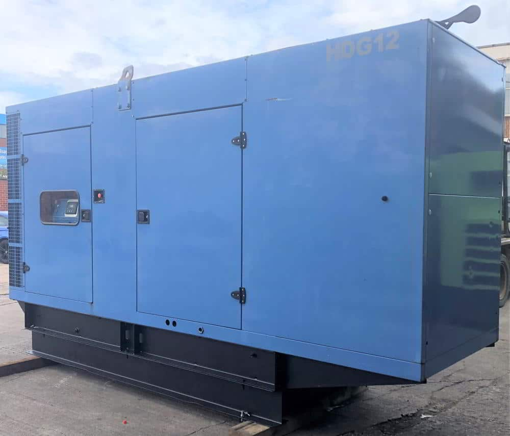 365 Kva SDMO John Deere/Meccalte Acoustic Generator 2
