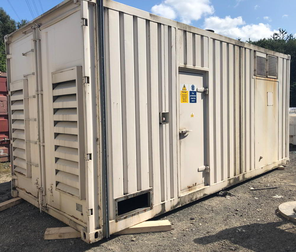 1125 KVA Cummins Stamford 20ft Acoustic Container
