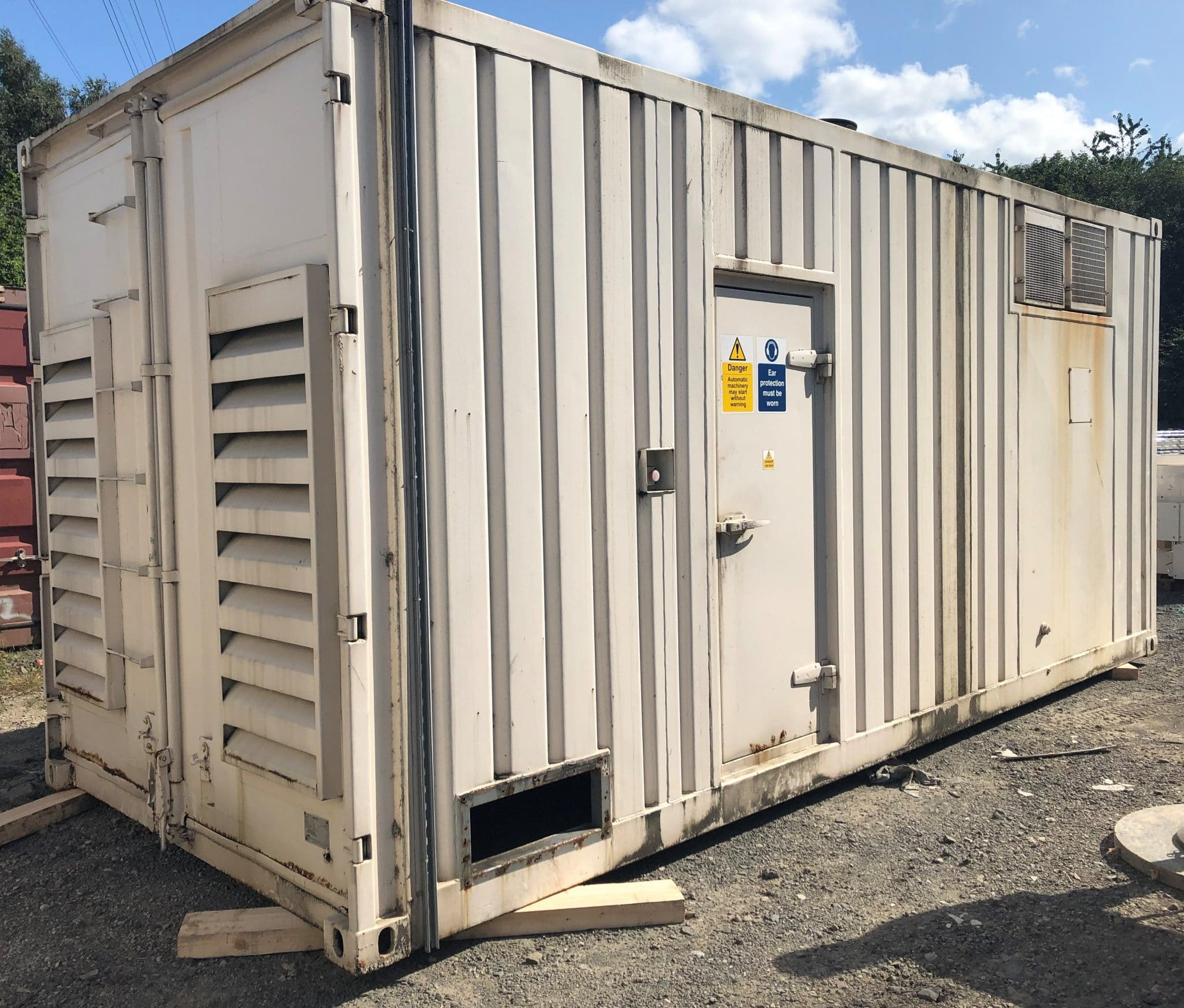 1125 KVA Cummins Stamford 20ft Acoustic Container