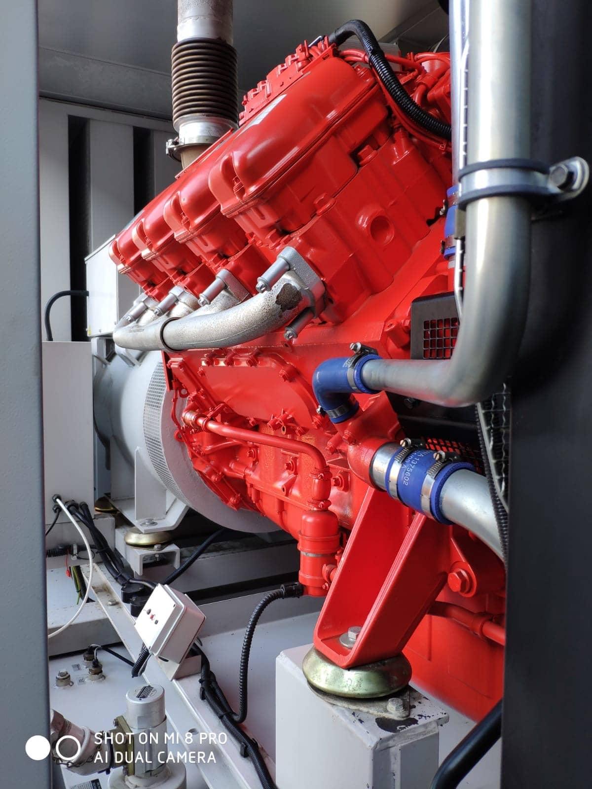 500 KVA Scania Marelli Acoustic Generator 4