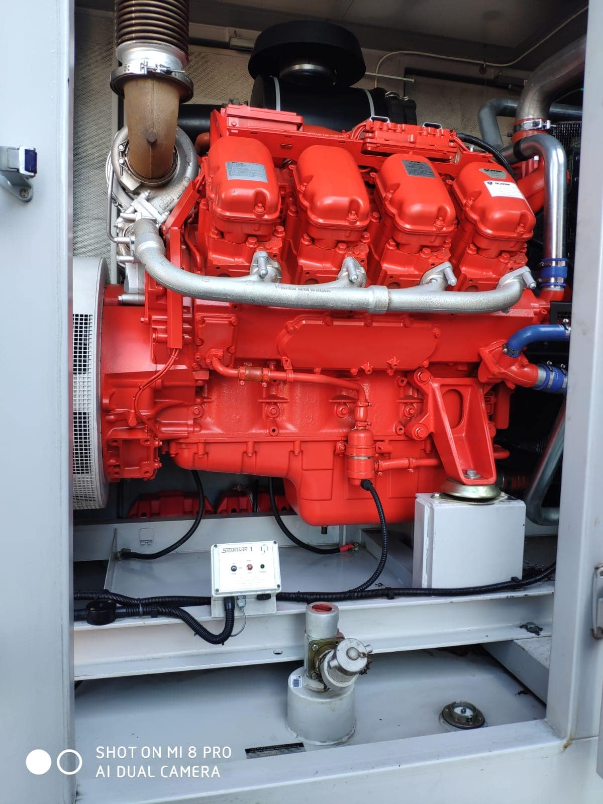 500 KVA Scania Marelli Acoustic Generator 5