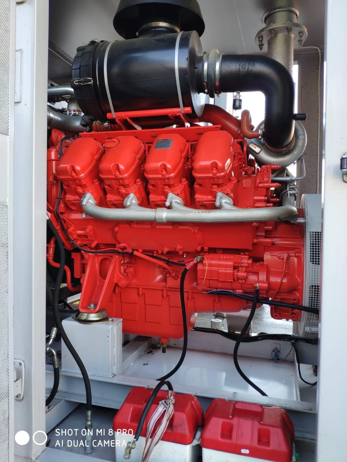 500 KVA Scania Marelli Acoustic Generator 6