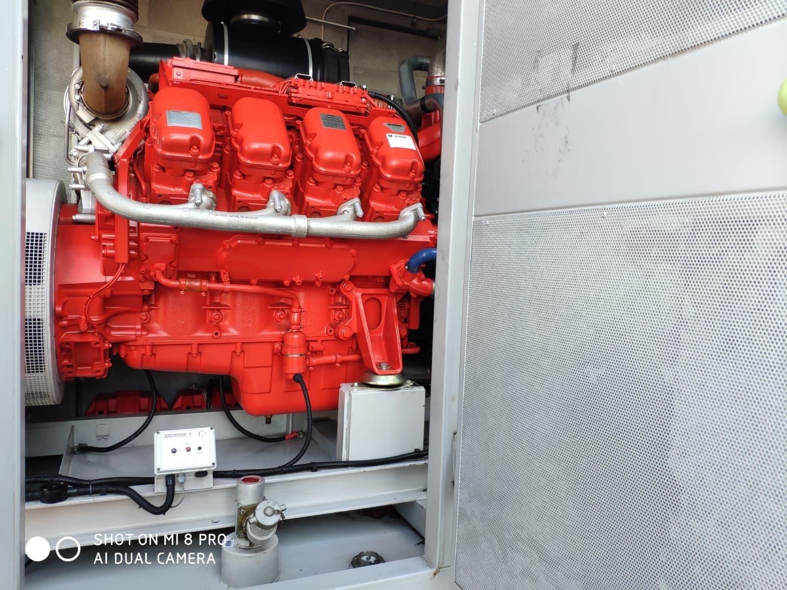 500 KVA Scania Marelli Acoustic Generator 7
