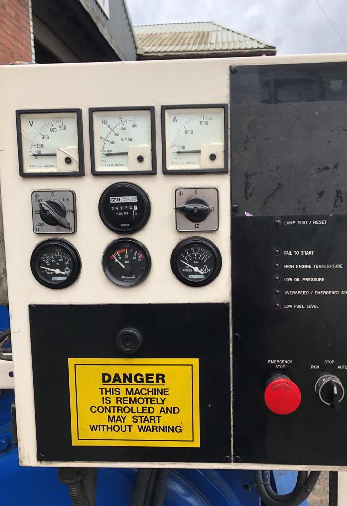936 Perkins Stamford FG Wilson Diesel Generators 8