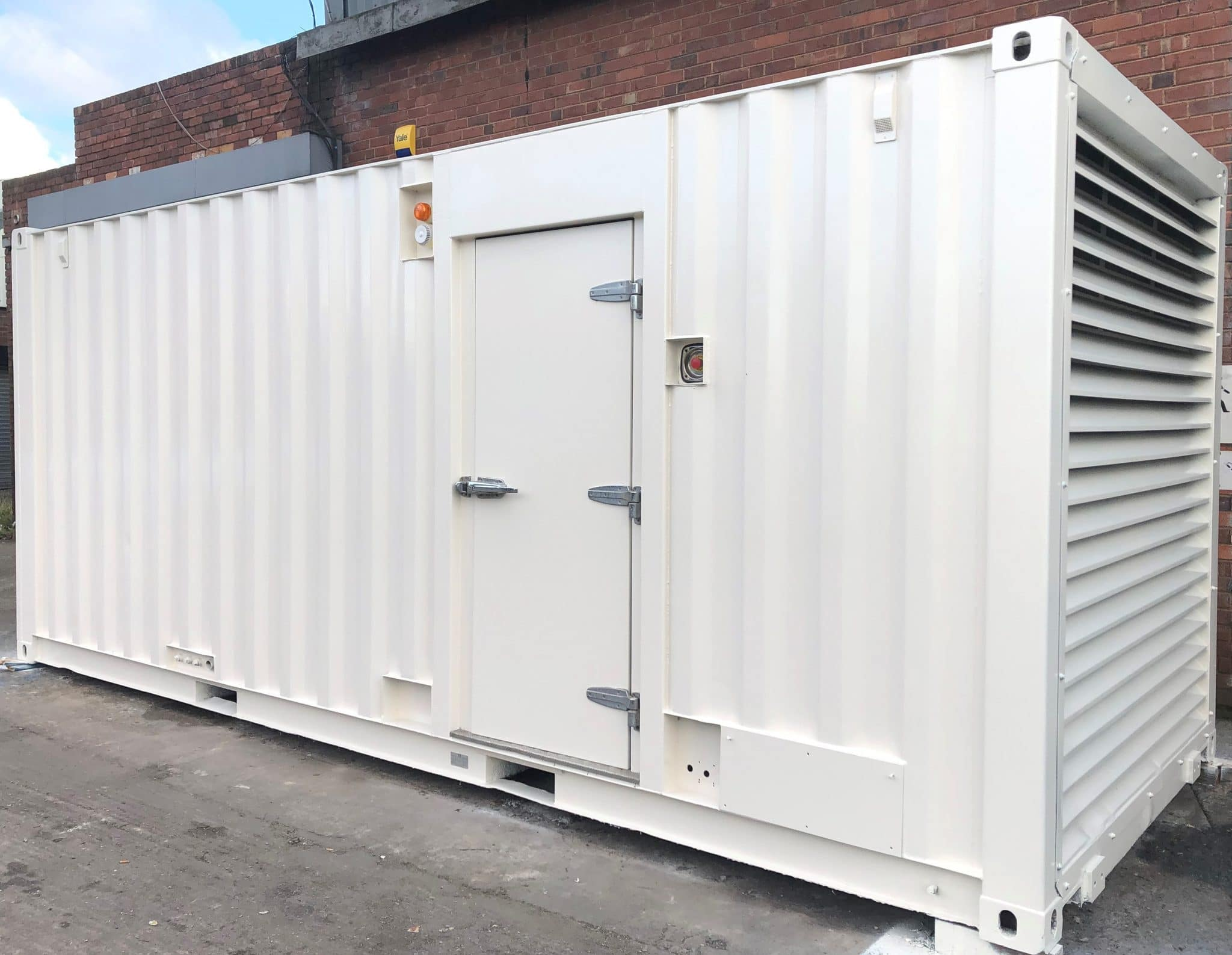 880 KVA Perkins Stamford 20ft Acoustic Container Generator