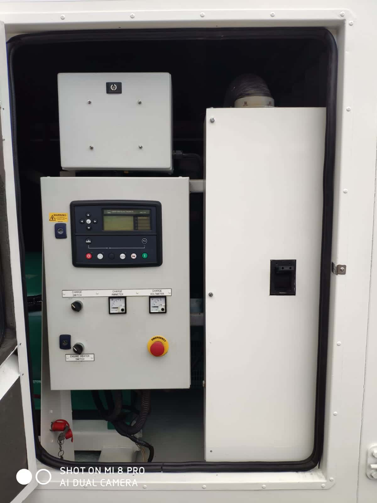 500 KVA FG Wilson Perkins Stamford Acoustic Generator 7