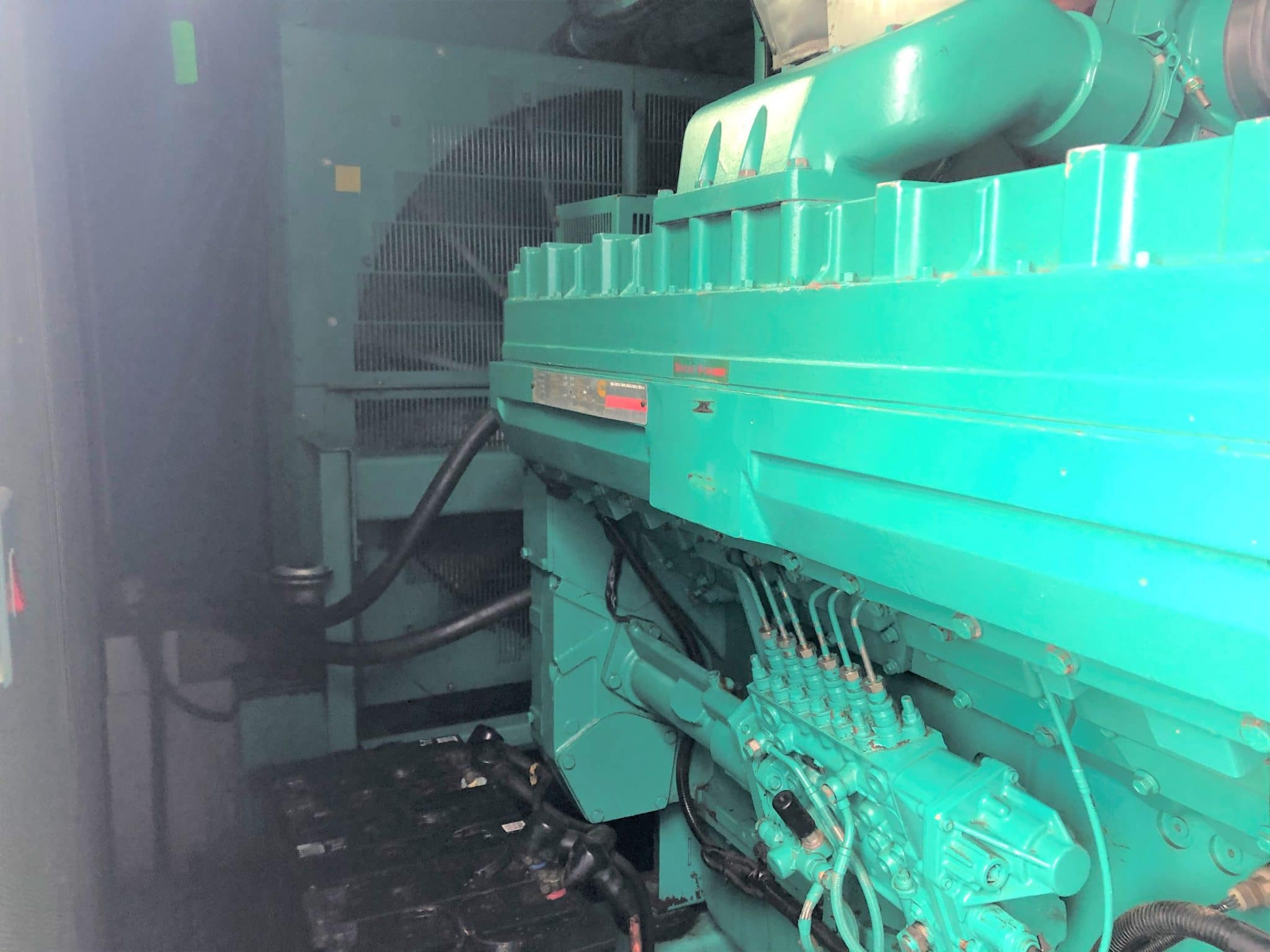 891 Kva Cummins Stamford in a 20 ft Acoustic Container for sale