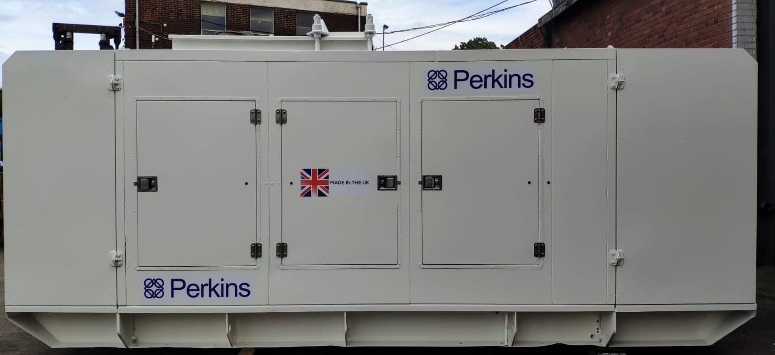 500 KVA FG Wilson Perkins Stamford Acoustic Generator 3