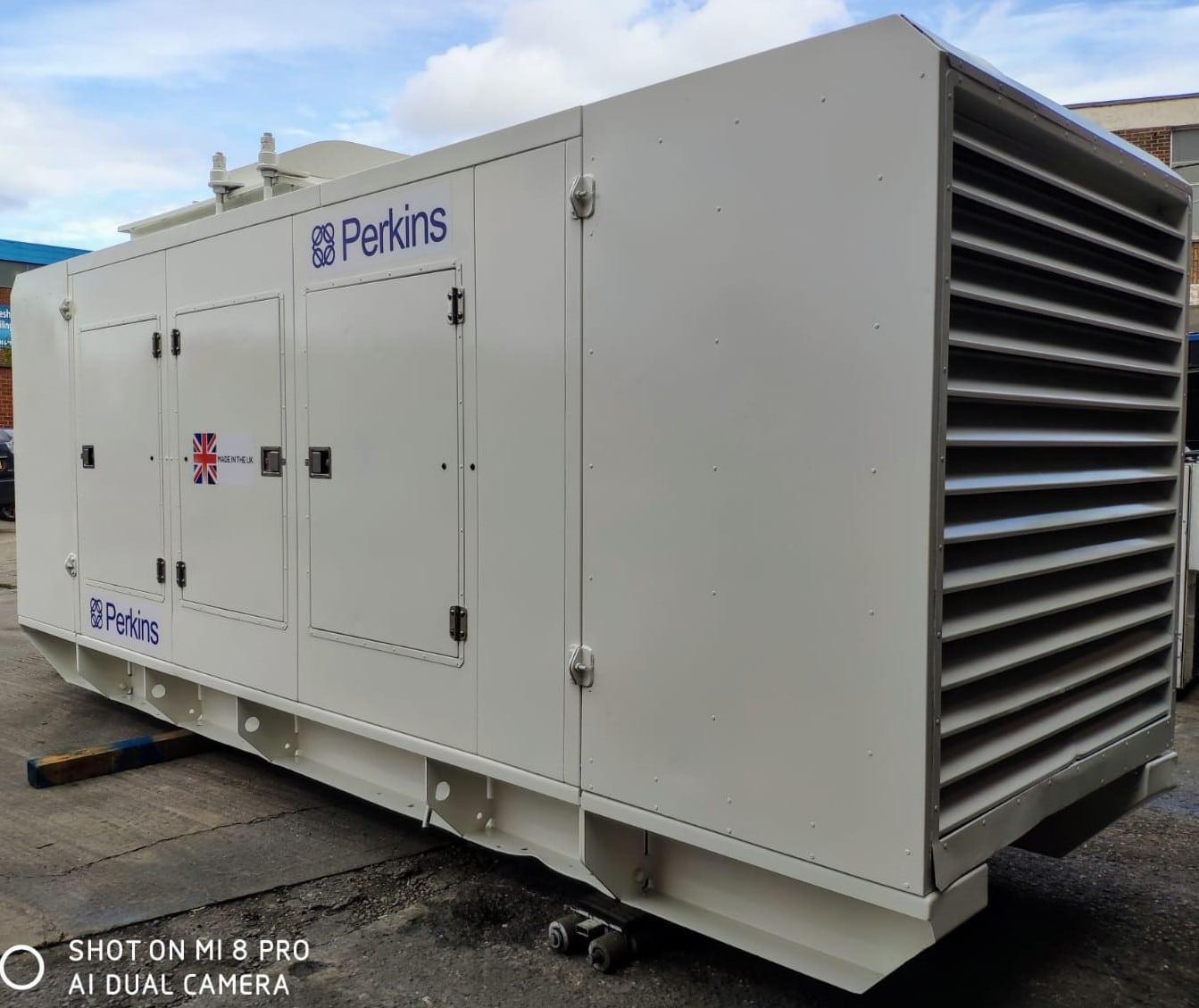 500 KVA FG Wilson Perkins Stamford Acoustic Generator 4