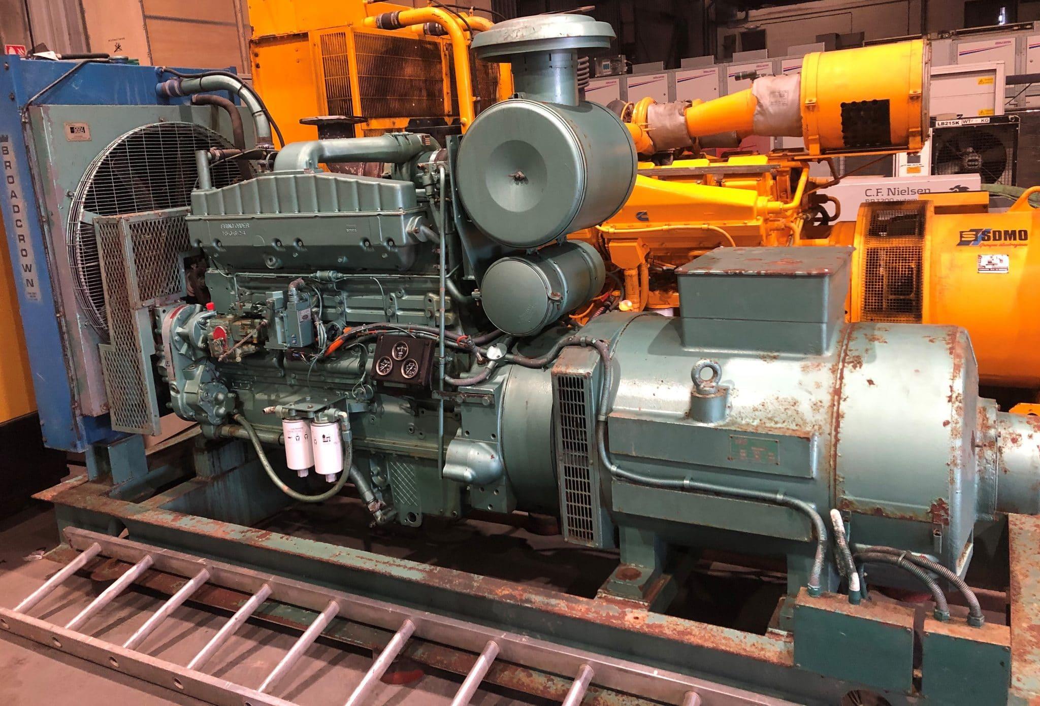 250 KVA Cummins Stamford Open Type Generator