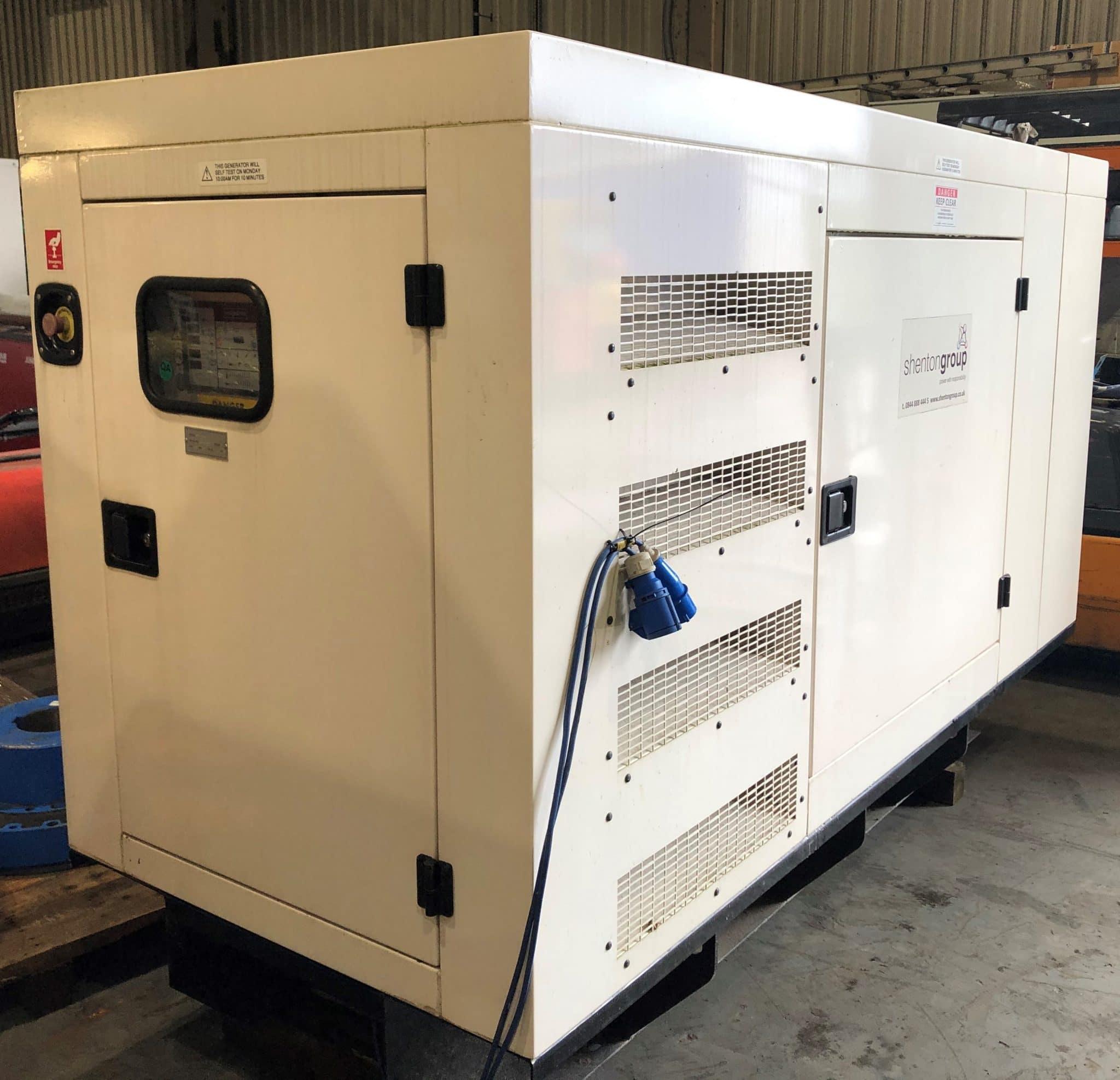 100 Kva AJ Power Sisu Acoustic Diesel Generator