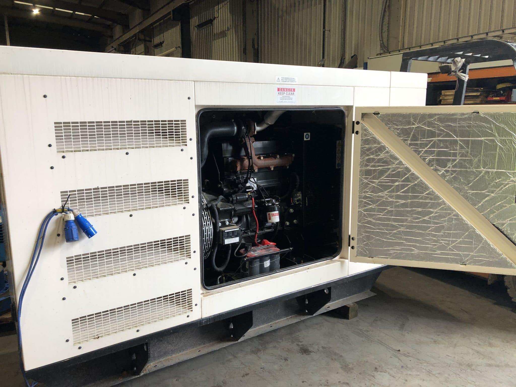 100 Kva AJ Power Sisu Acoustic Diesel Generator for sale