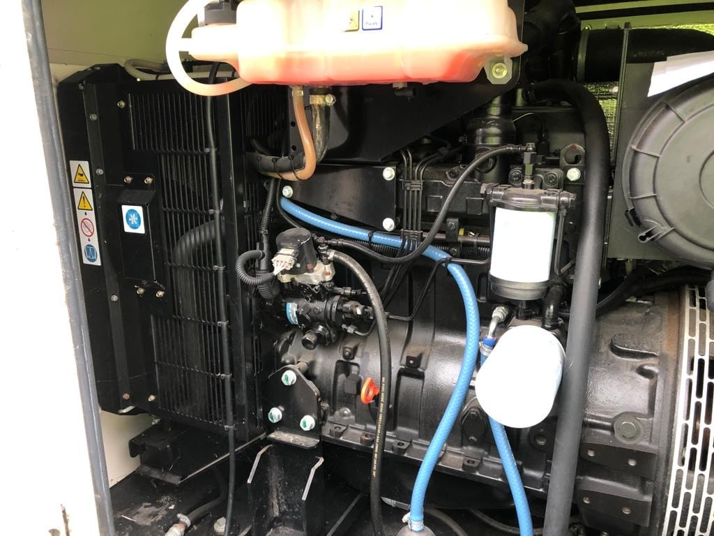 100 KVA AJ Power Sisu Acoustic Diesel Generator 3