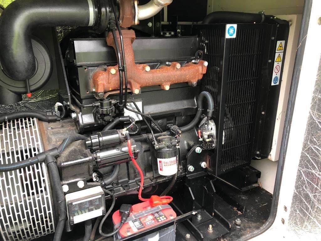 100 KVA AJ Power Sisu Acoustic Diesel Generator 4