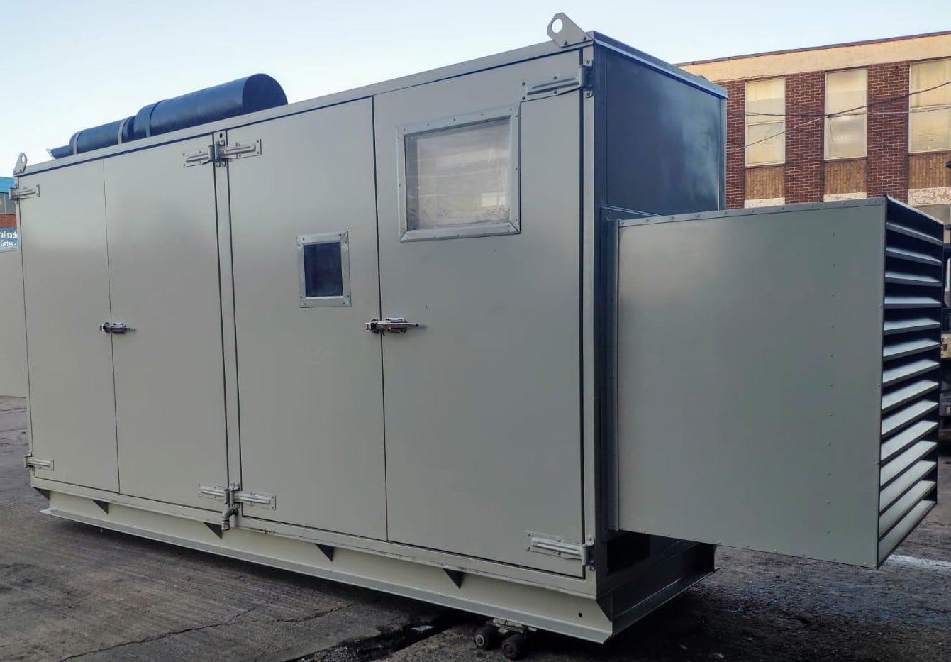 257 KVA Cummins Stamford Acoustic Used Generator