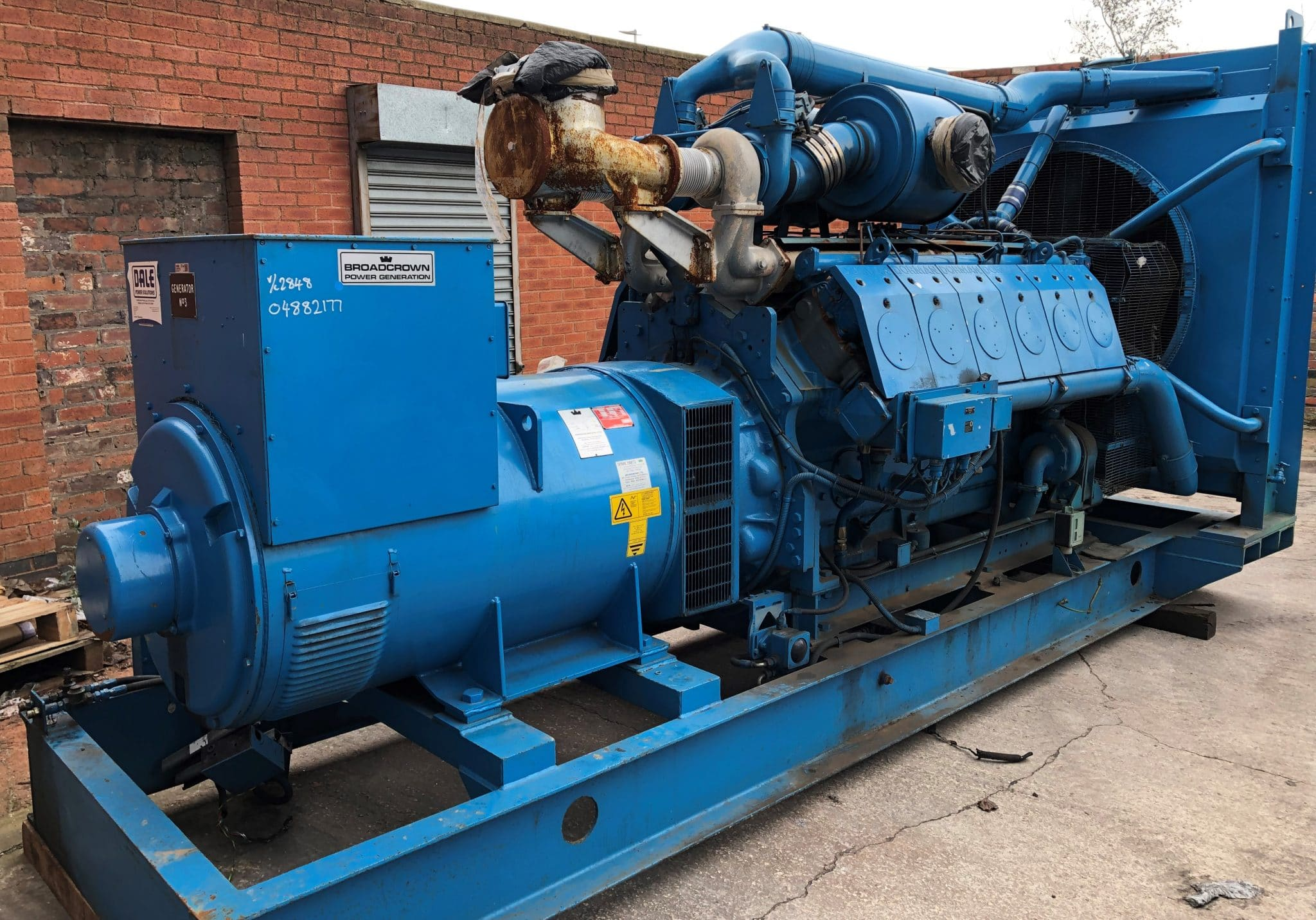 1050 KVA Dorman/Stamford Open Type Generator for Sale 1