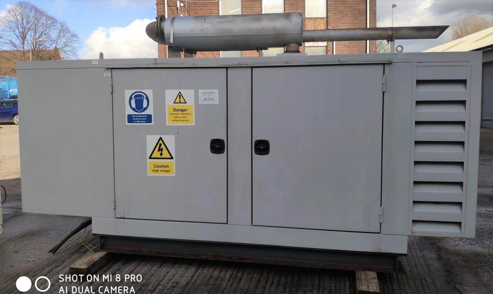 100 Kva Perkins MeccAlte Acoustic Generator 1