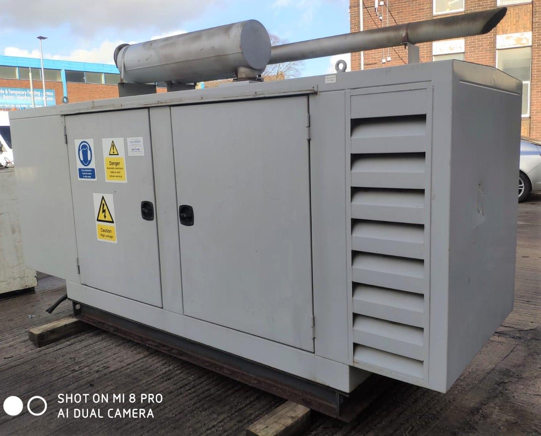 100 KVA Perkins MeccAlte Acoustic Generator