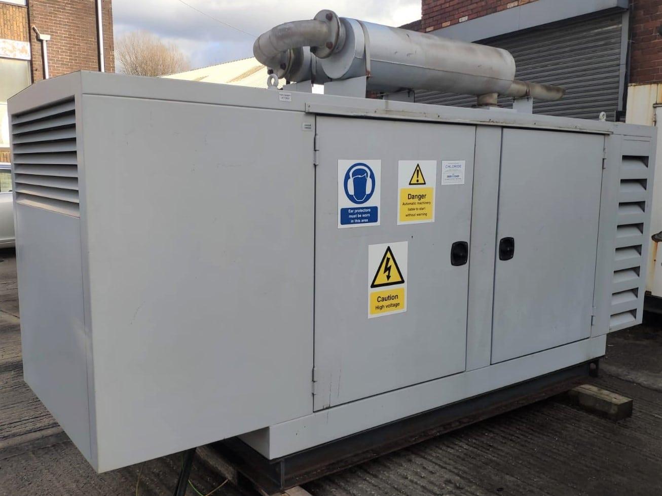 100 KVA Perkins MeccAlte Acoustic Generator 3