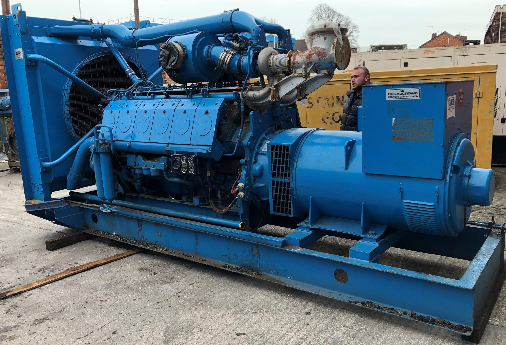 1050 KVA Dorman/Stamford Open Type Generator for Sale 2