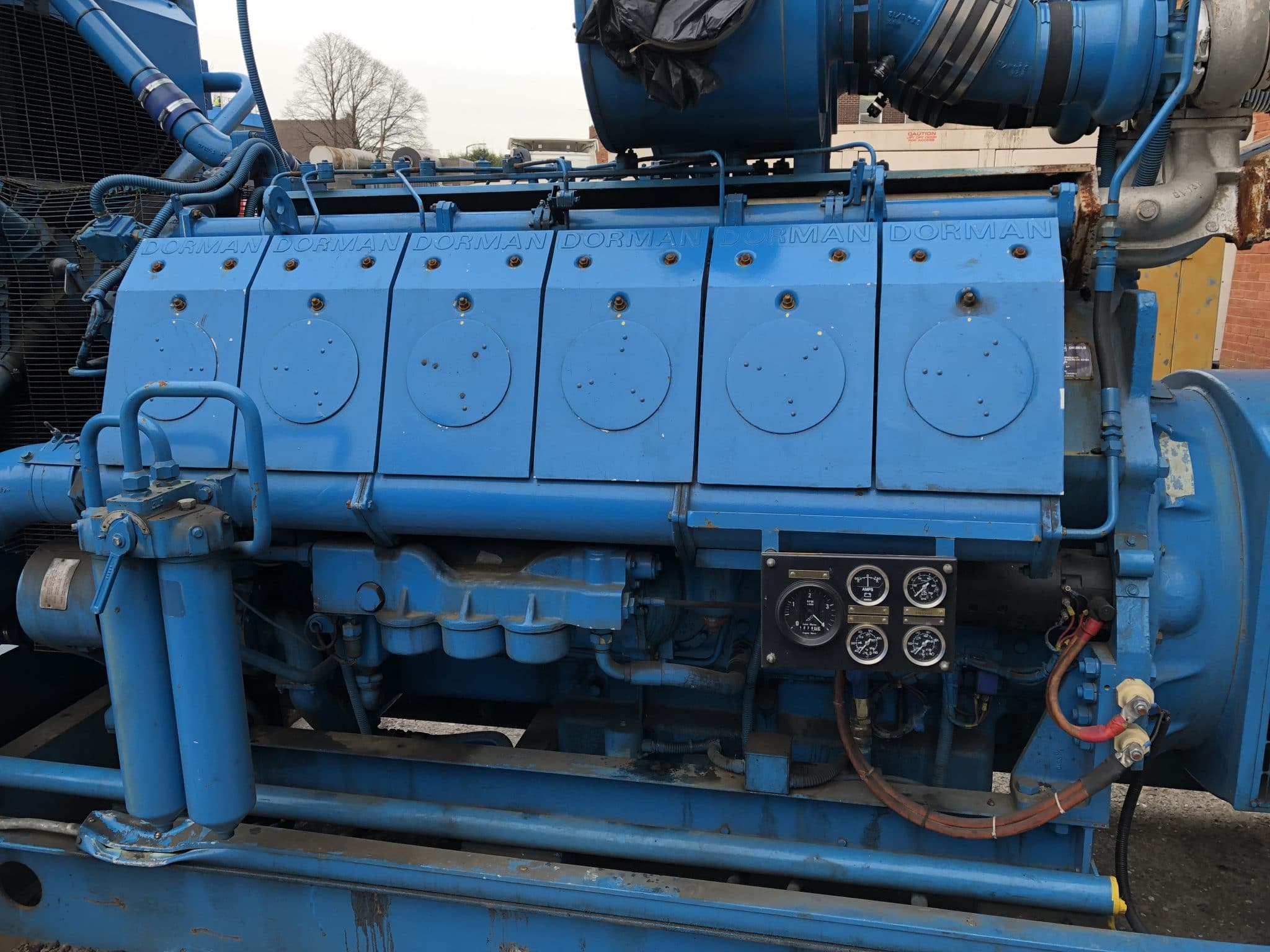 1050 KVA Dorman/Stamford Open Type Generator for Sale 3