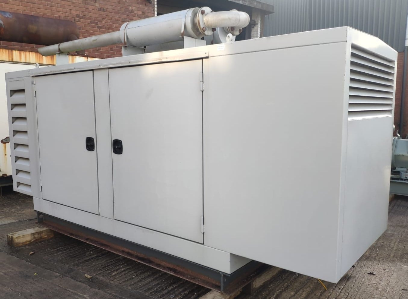 100 KVA Perkins MeccAlte Acoustic Generator 6