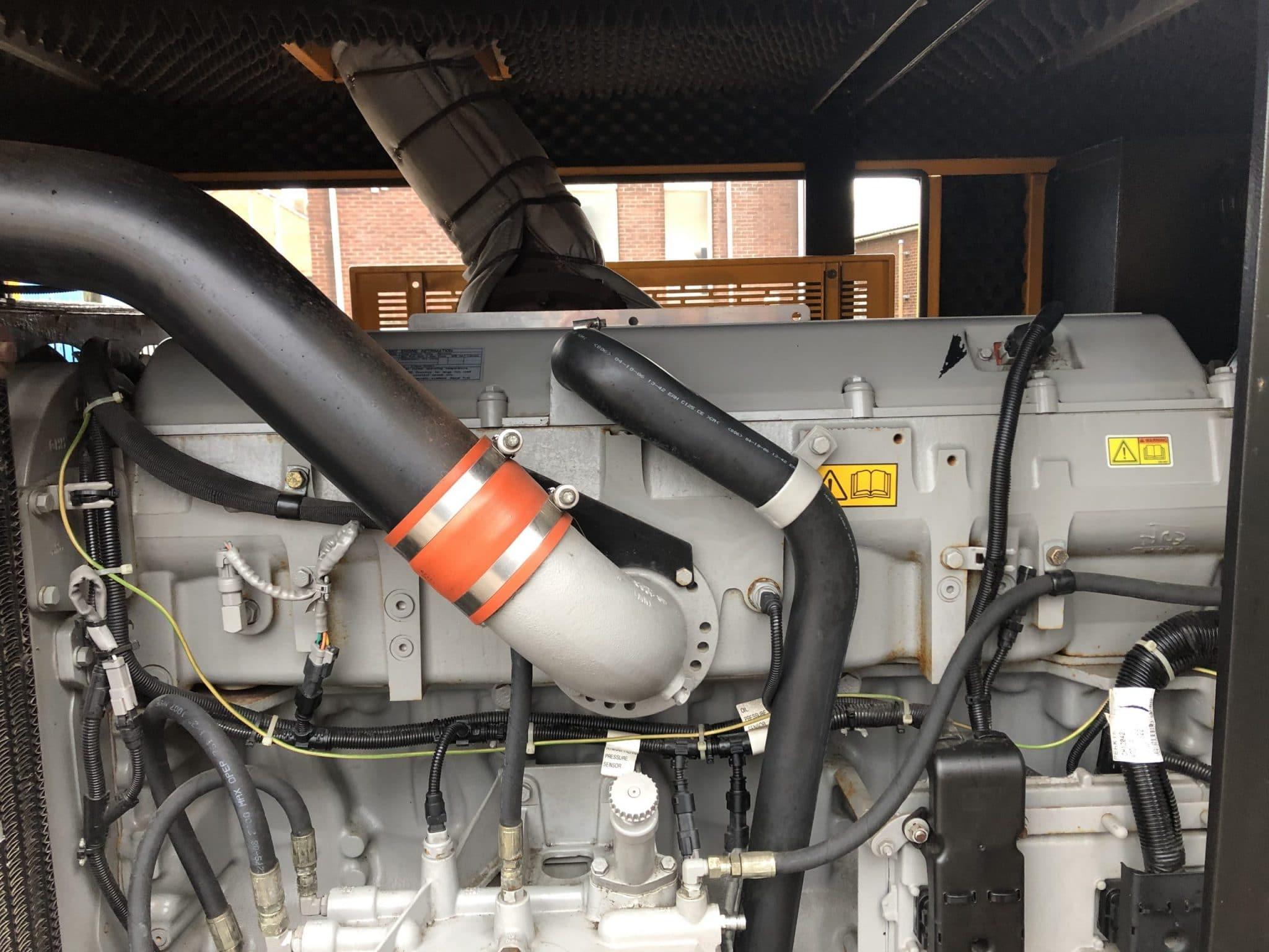 350 KVA Perkins Stamford Acoustic Generator 5