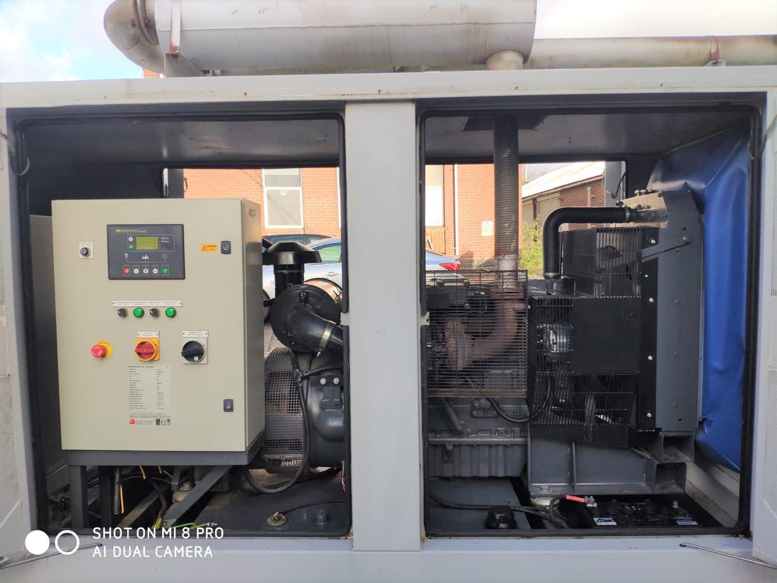 100 KVA Perkins MeccAlte Acoustic Generator 7