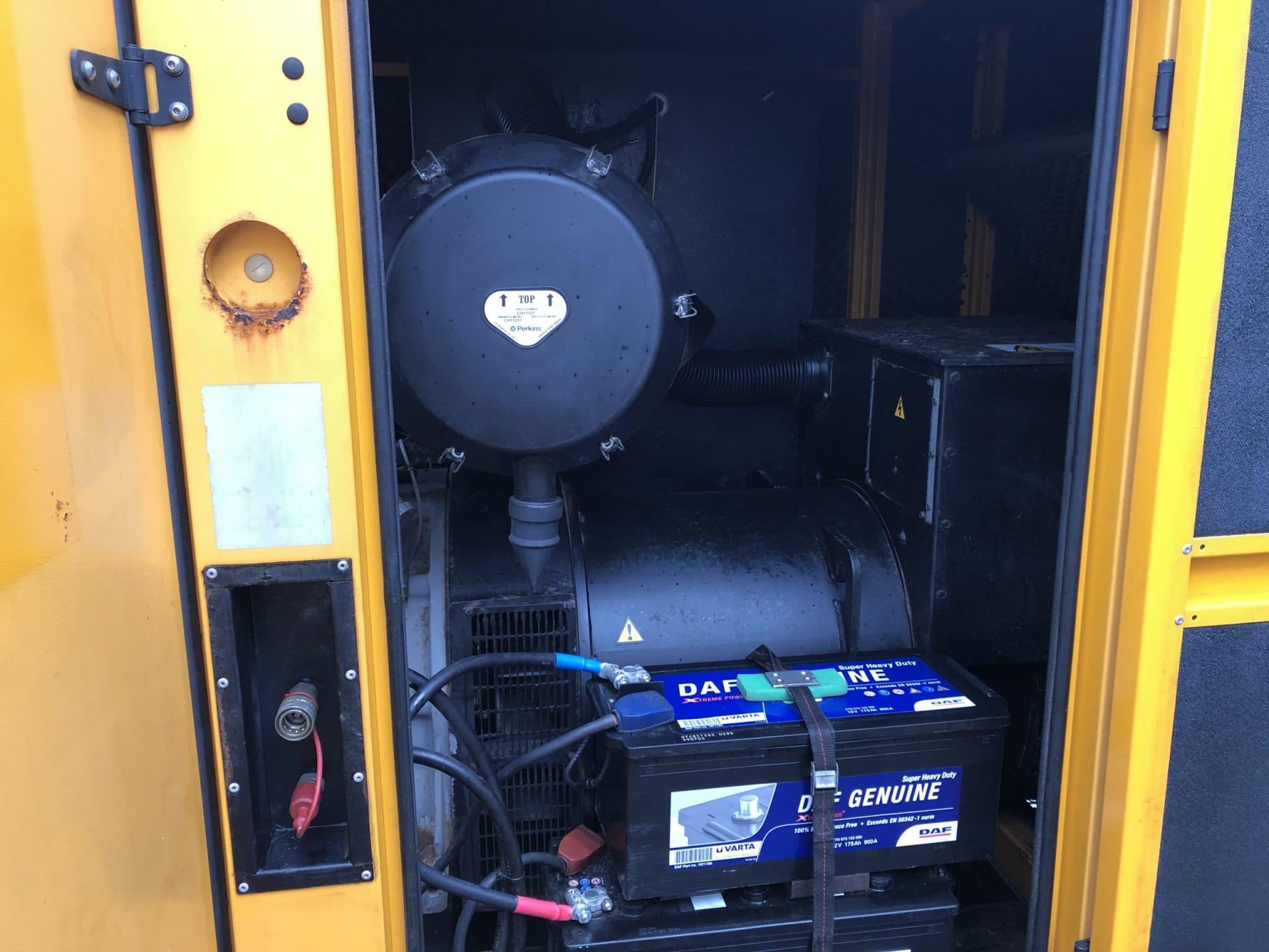 350 KVA Perkins Stamford Acoustic Generator 7