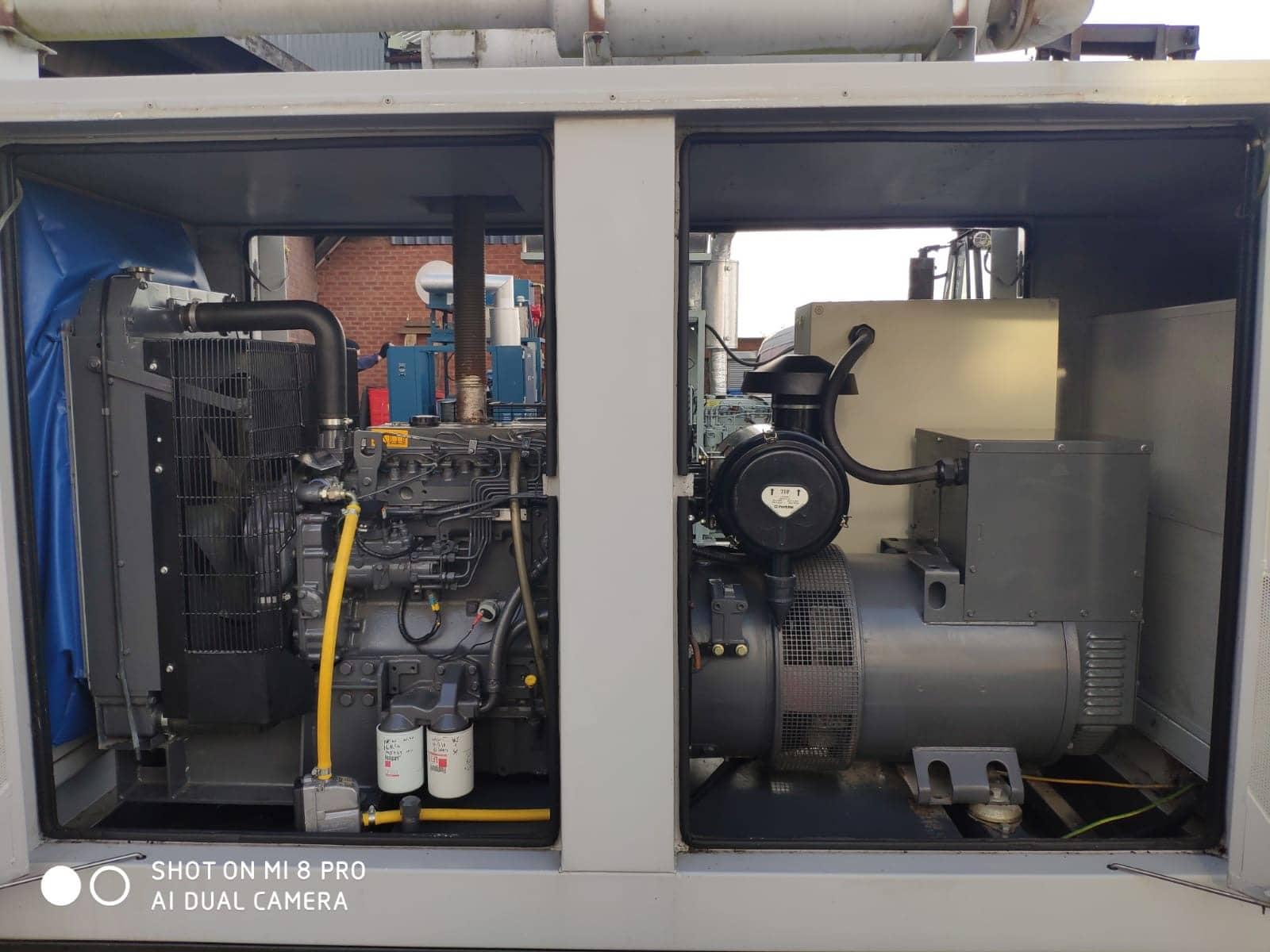 100 KVA Perkins MeccAlte Acoustic Generator 8