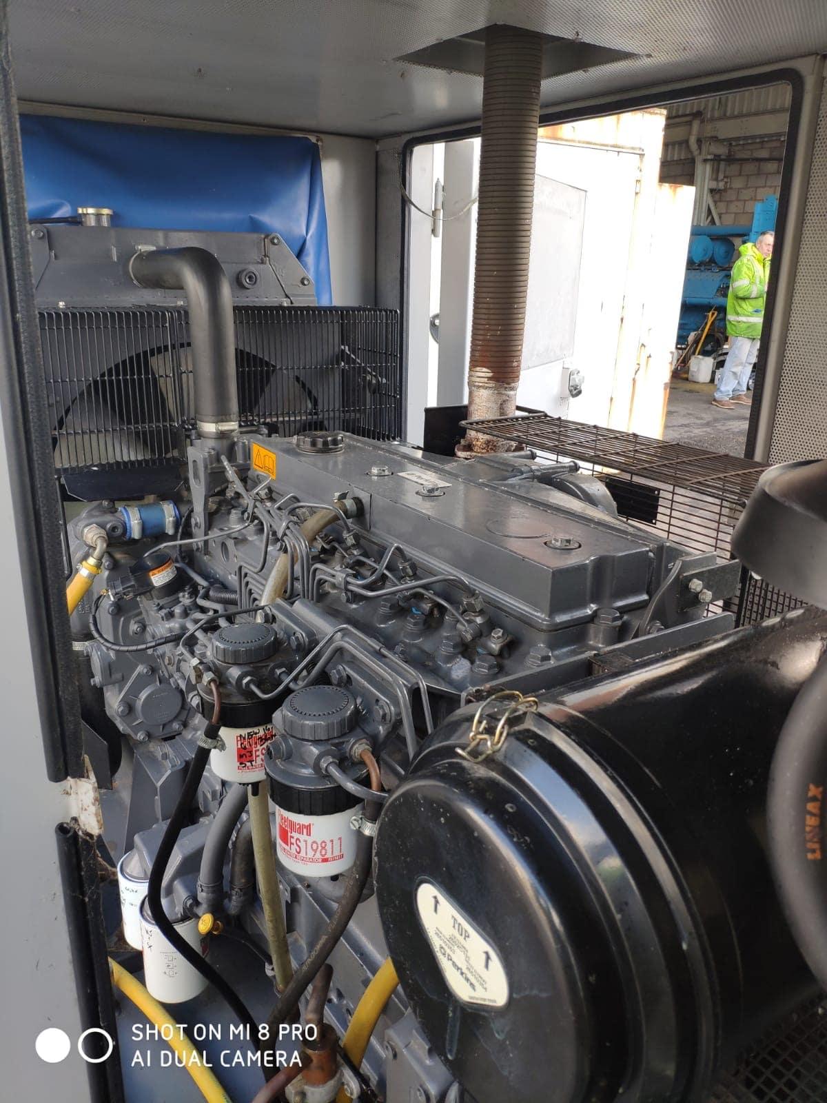 100 KVA Perkins MeccAlte Acoustic Generator 9
