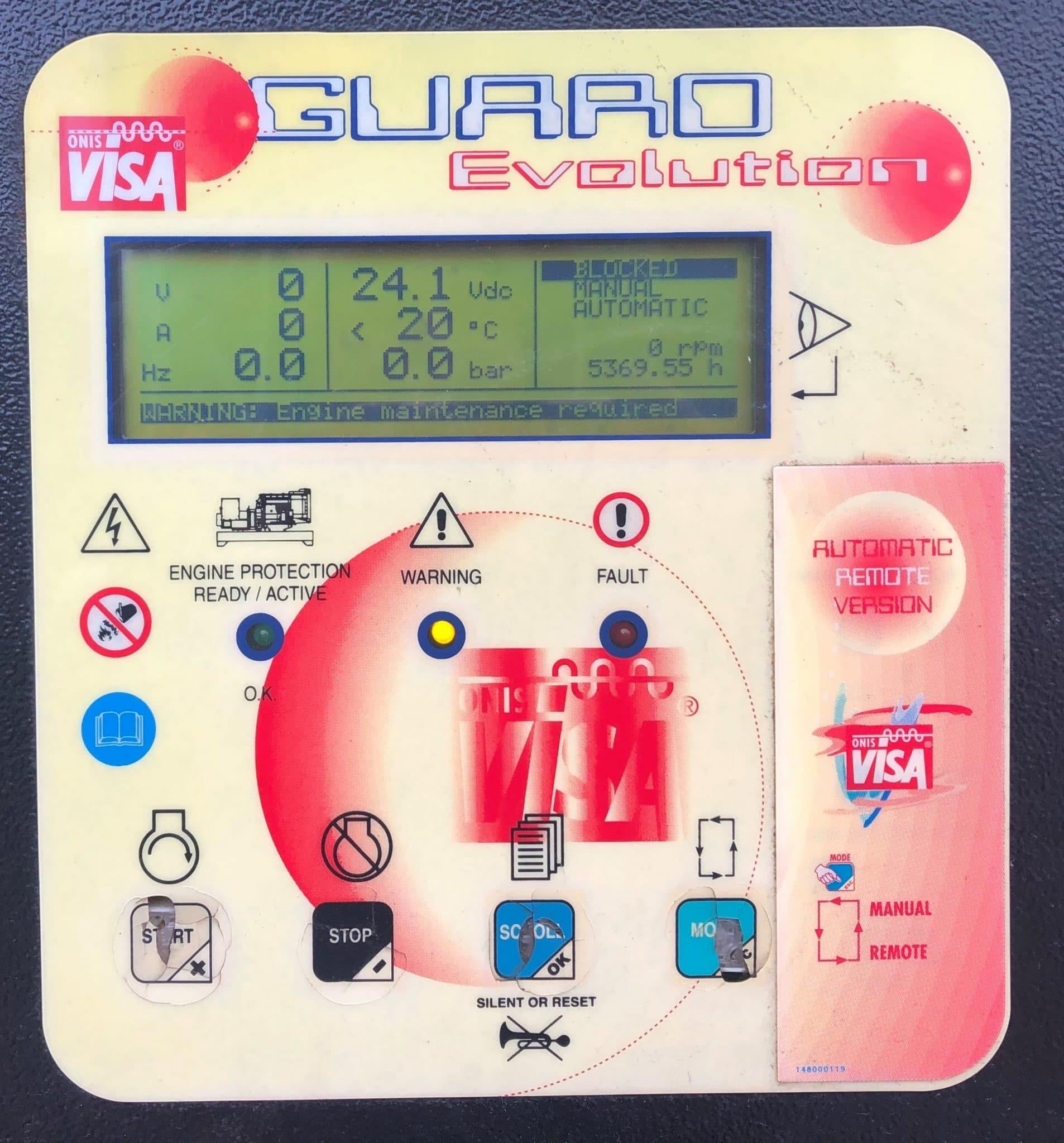 350 KVA Perkins Stamford Acoustic Generator