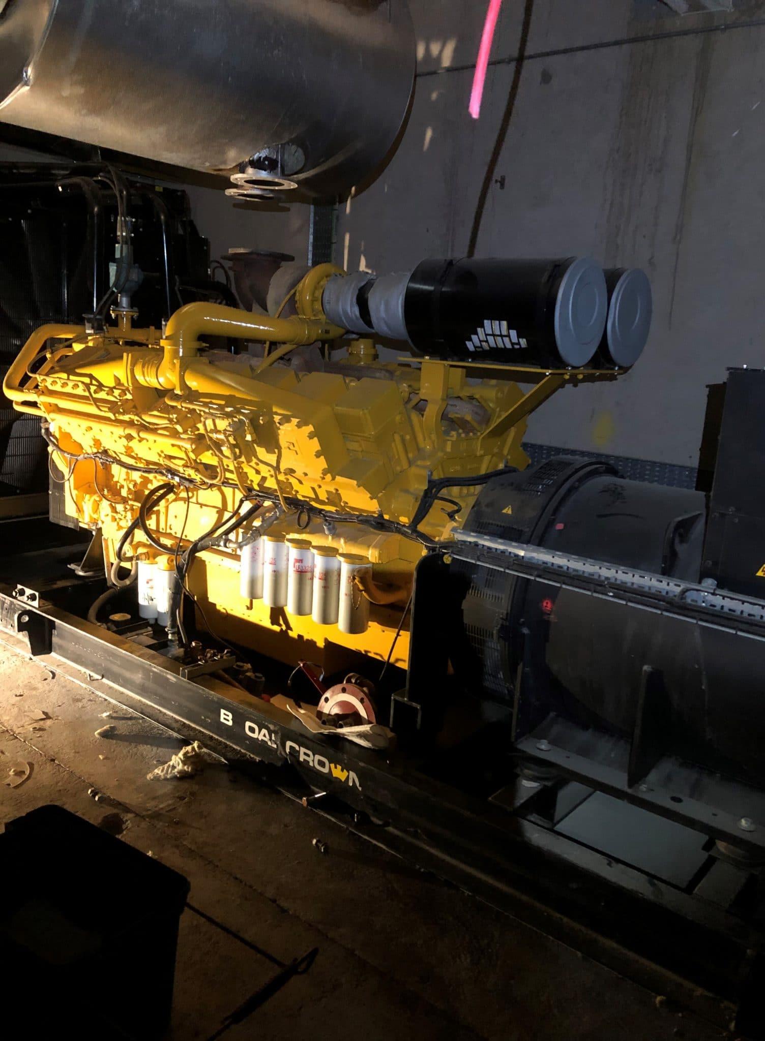 1500 KVA KTA50-GS5 Cummins/Stamford Generator 2