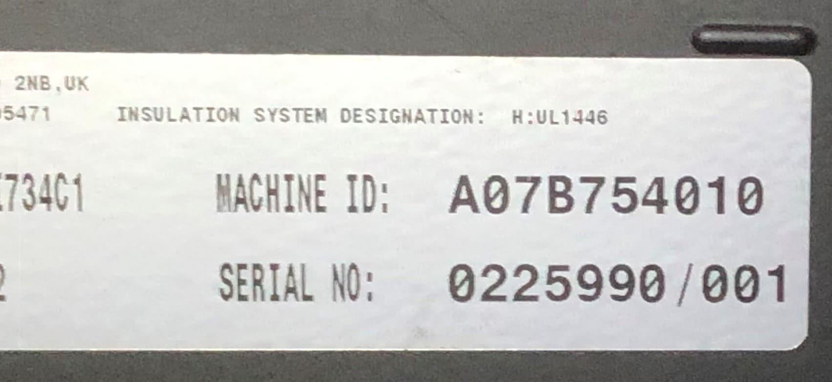 1500 KVA KTA50-GS5 Cummins/Stamford Generator 4