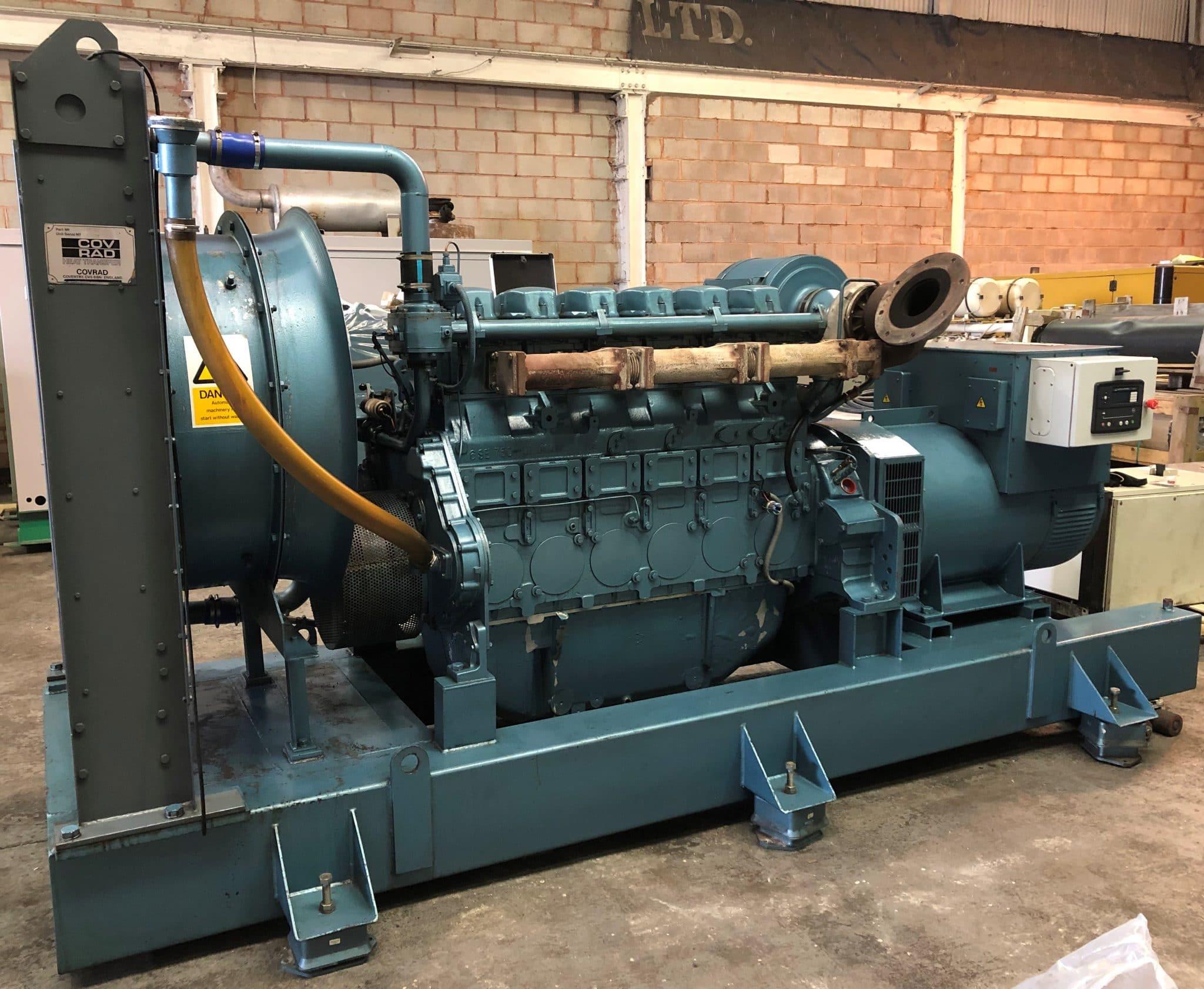 505 KVA Perkins Stamford Open Type Generator