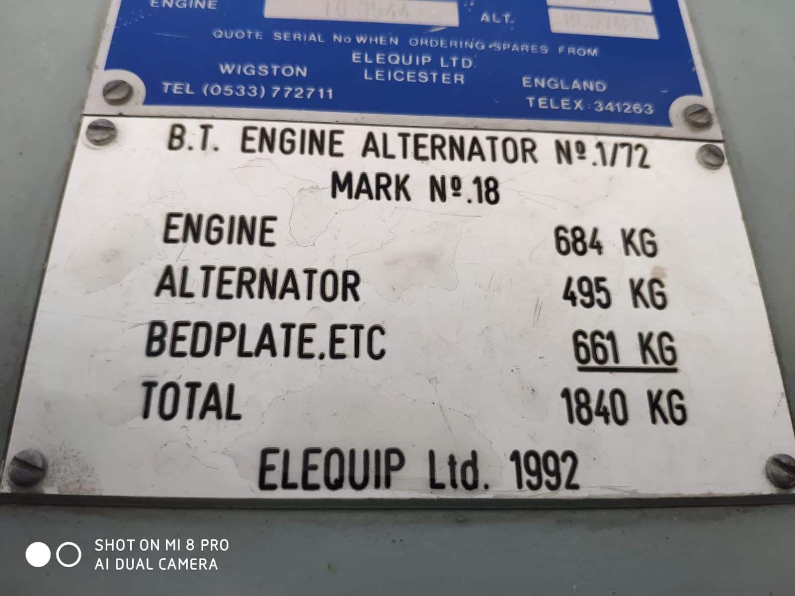 72 KVA Perkins Stamford Open Type Diesel Generator (BT Specs) 12
