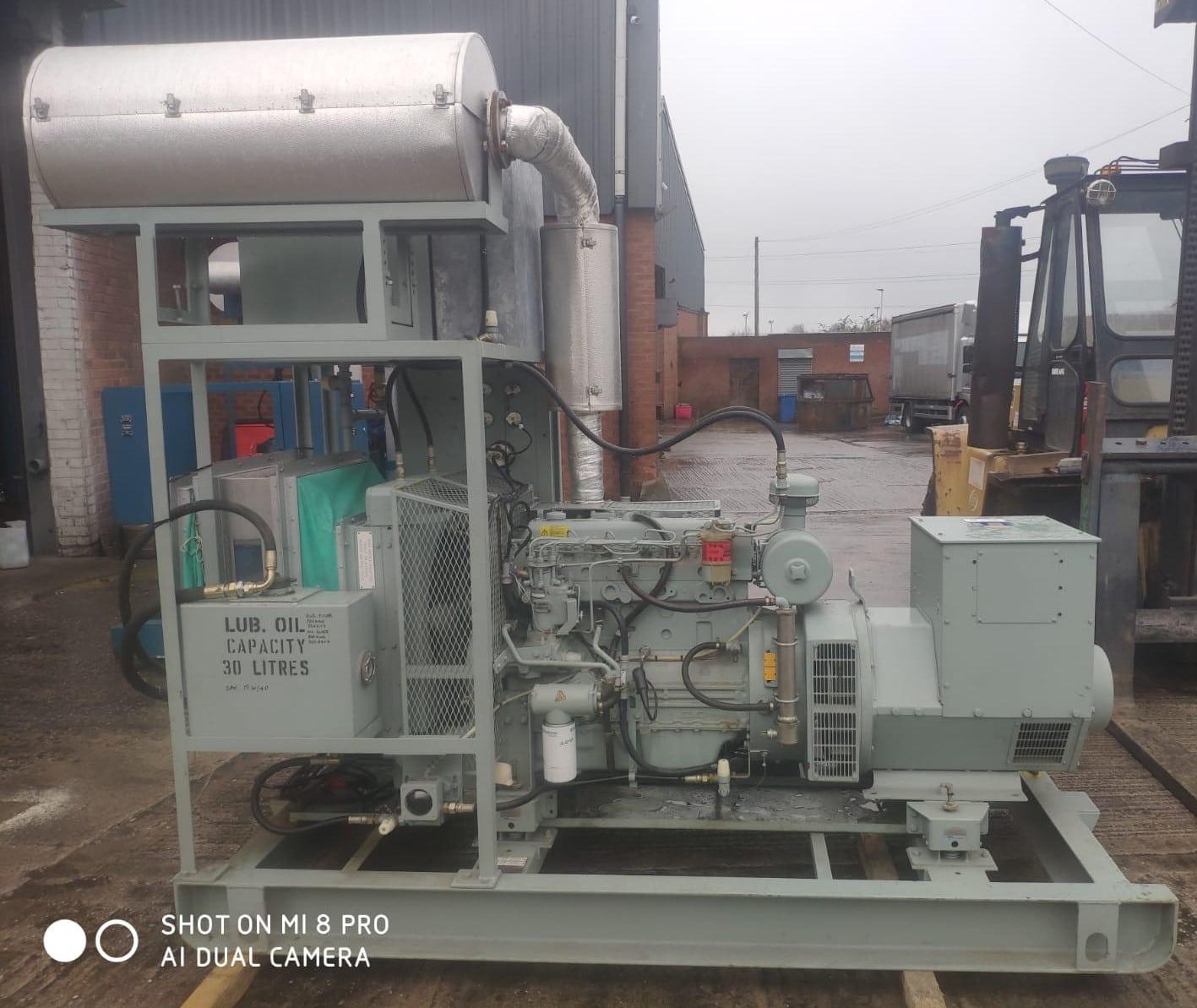 72 Kva Perkins Stamford Open Type Diesel Generator (BT Specs) 4