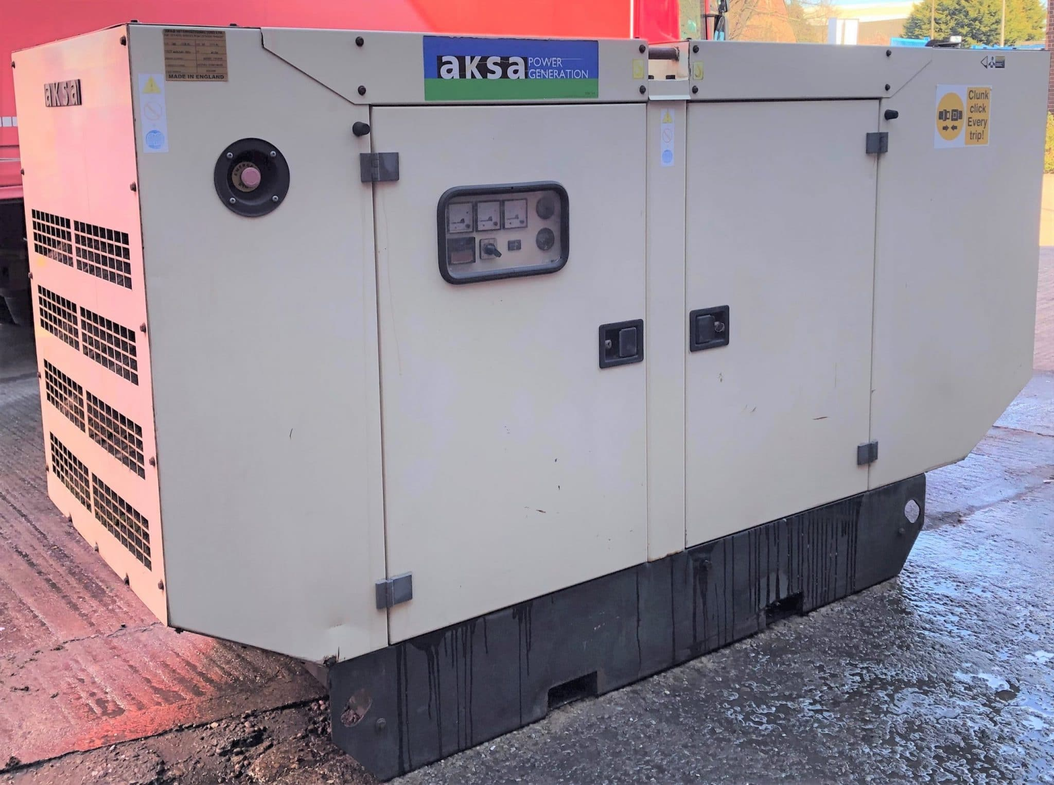 100 KVA John Deere Stamford   Acoustic Diesel Generator