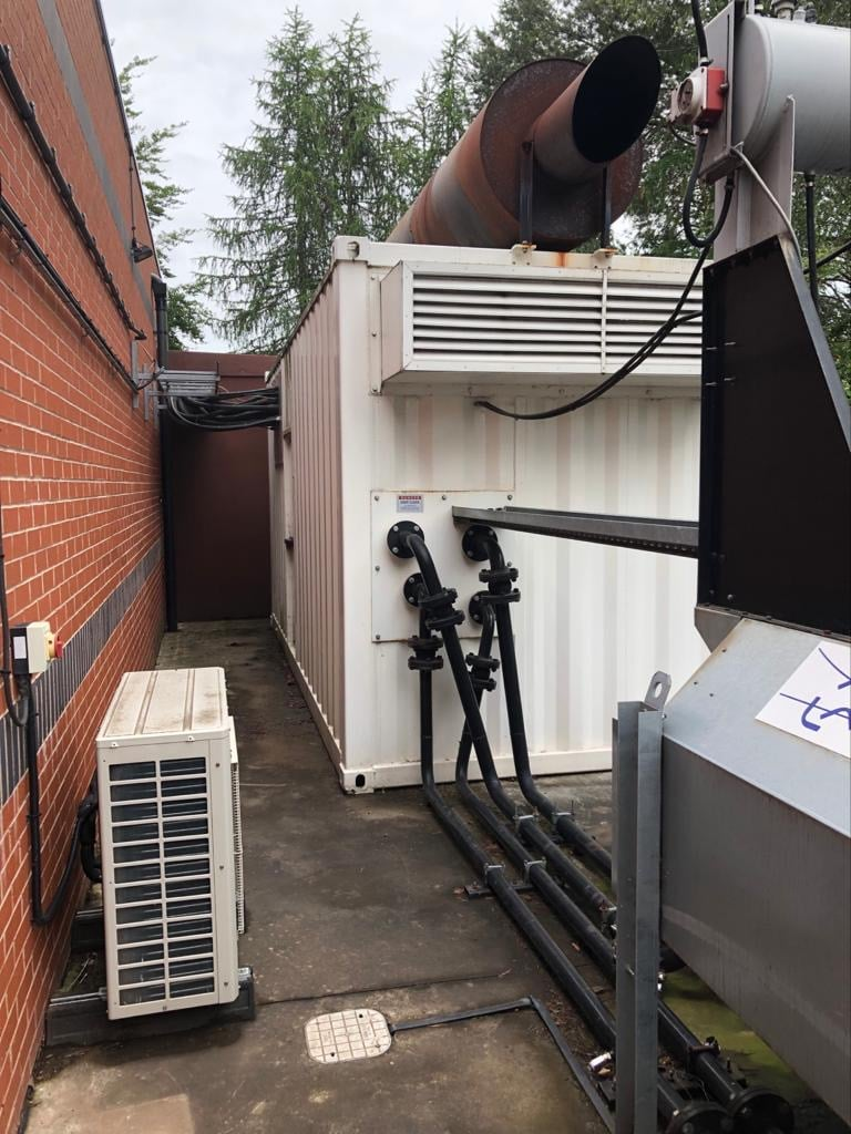 Used  2035 Kva  MTU/Meccalte fitted  in an Acoustic 40ft Container