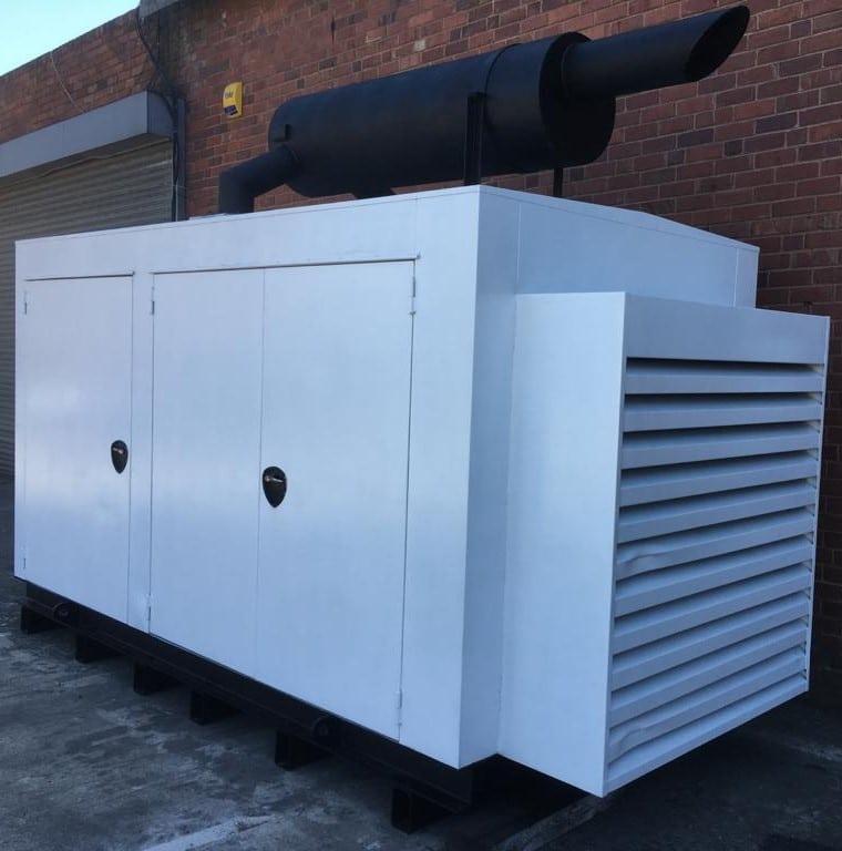 500 KVA Deutz Stamford Used Acoustic Generator