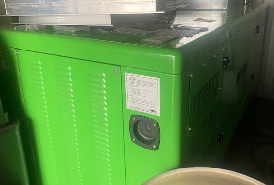 66 Kva Iveco MeccAlte Acoustic Generator