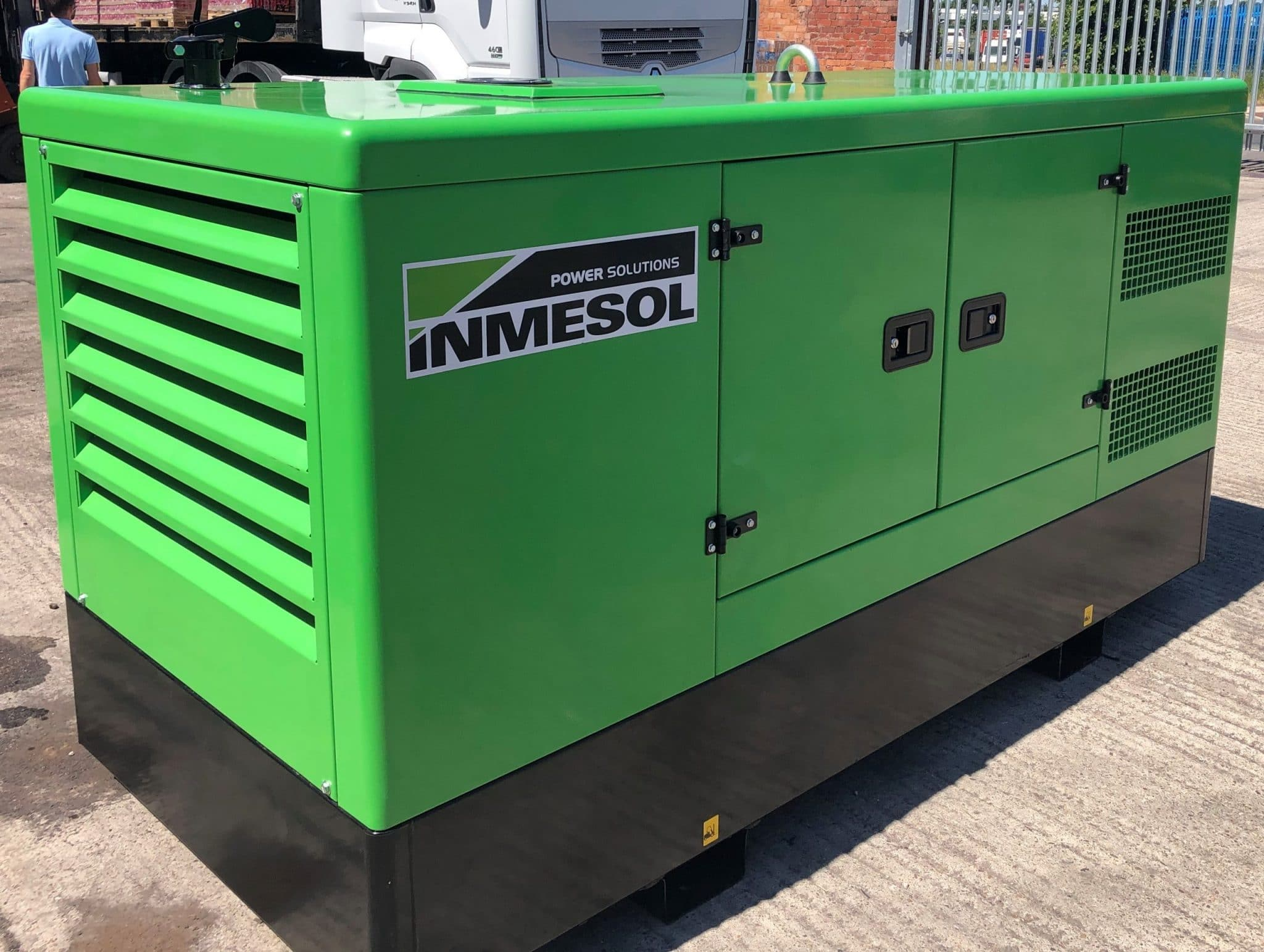 66 Kva Iveco MeccAlte Acoustic Generator Un-Used