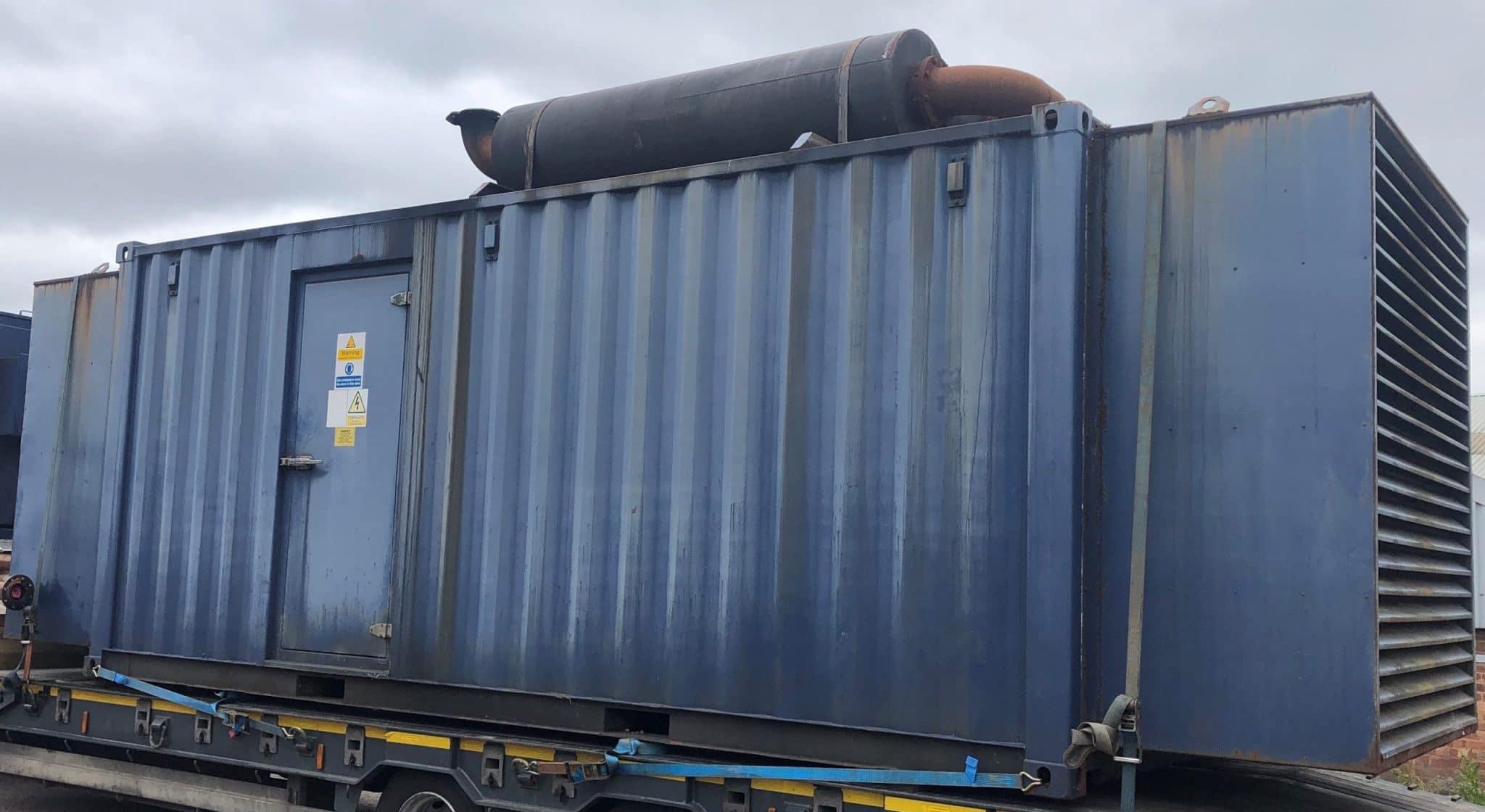 500 KVA Volvo Leroy Somer Acoustic Diesel Generator